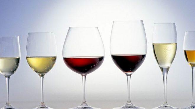 Použitie správnych pohárov ...